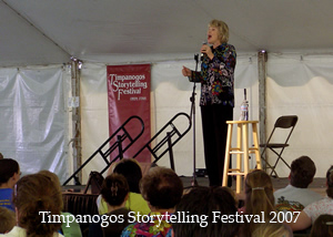 Jan at the Timp Storytelling festival